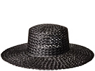Lack of Color Sunnydip Noir Straw Boater