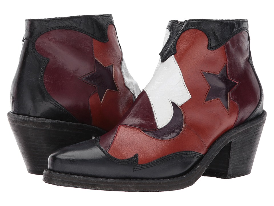 McQ Solstice Zip Boot (Patchwork) Women