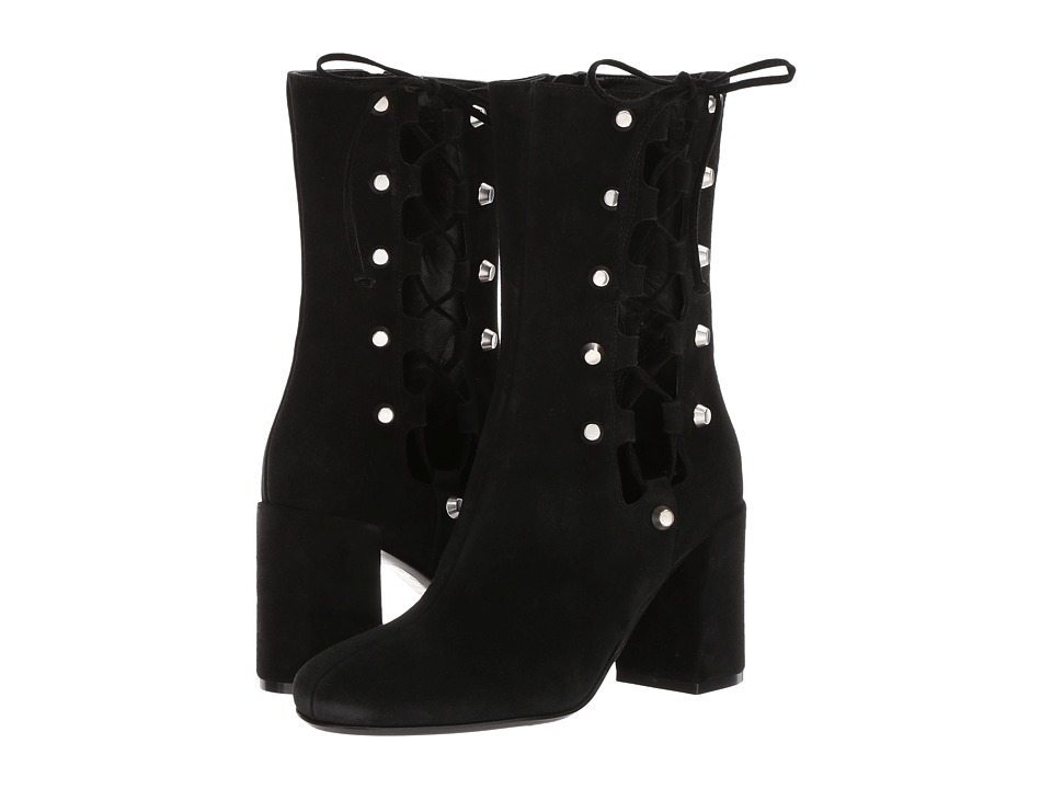 McQ Side Lace Pembury Bootie (Black) Women