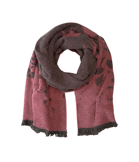 McQ Swallow Scarf - Charcoal Grey
