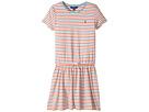 Polo Ralph Lauren Kids - Striped Jersey Tee Dress (Little Kids/Big Kids)