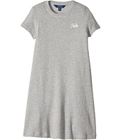 Polo Ralph Lauren Kids - French Terry Tee Dress (Little Kids/Big Kids)