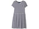 Polo Ralph Lauren Kids - Striped Pleated Ponte Dress (Little Kids/Big Kids)