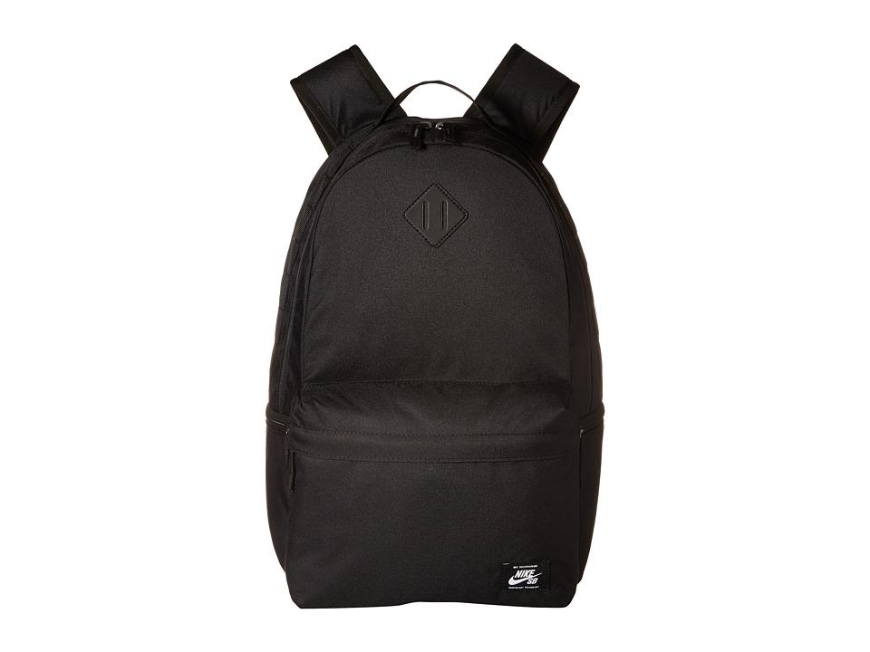 Nike - Icon Backpack (Black/Black/White) Backpack Bags