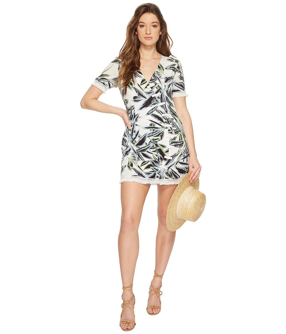 The Jetset Diaries - Ocean Palm Dress (Palm Print) Womens Dress