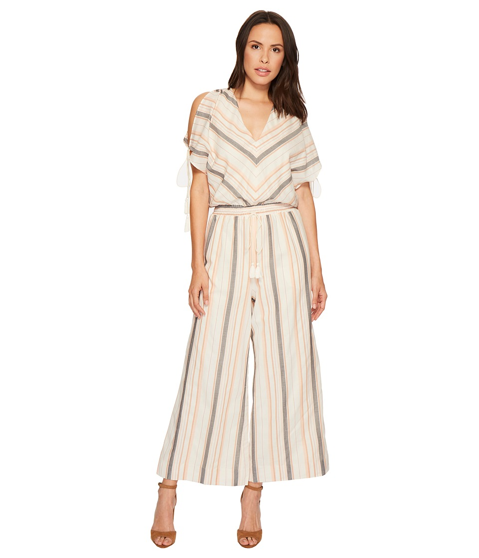 The Jetset Diaries - Brighton Jumpsuit (Multi Stripe) Womens Jumpsuit & Rompers One Piece