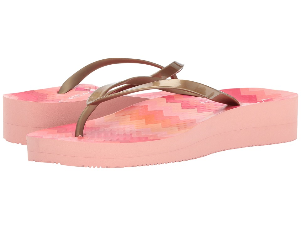 VIONIC - Coogee (Pink Zigzag/Gold) Women's Sandals