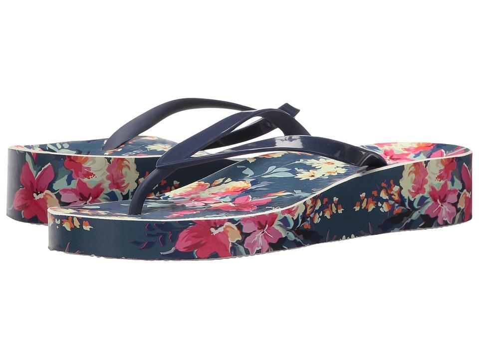 VIONIC - Bronte (Navy Floral) Women's Sandals