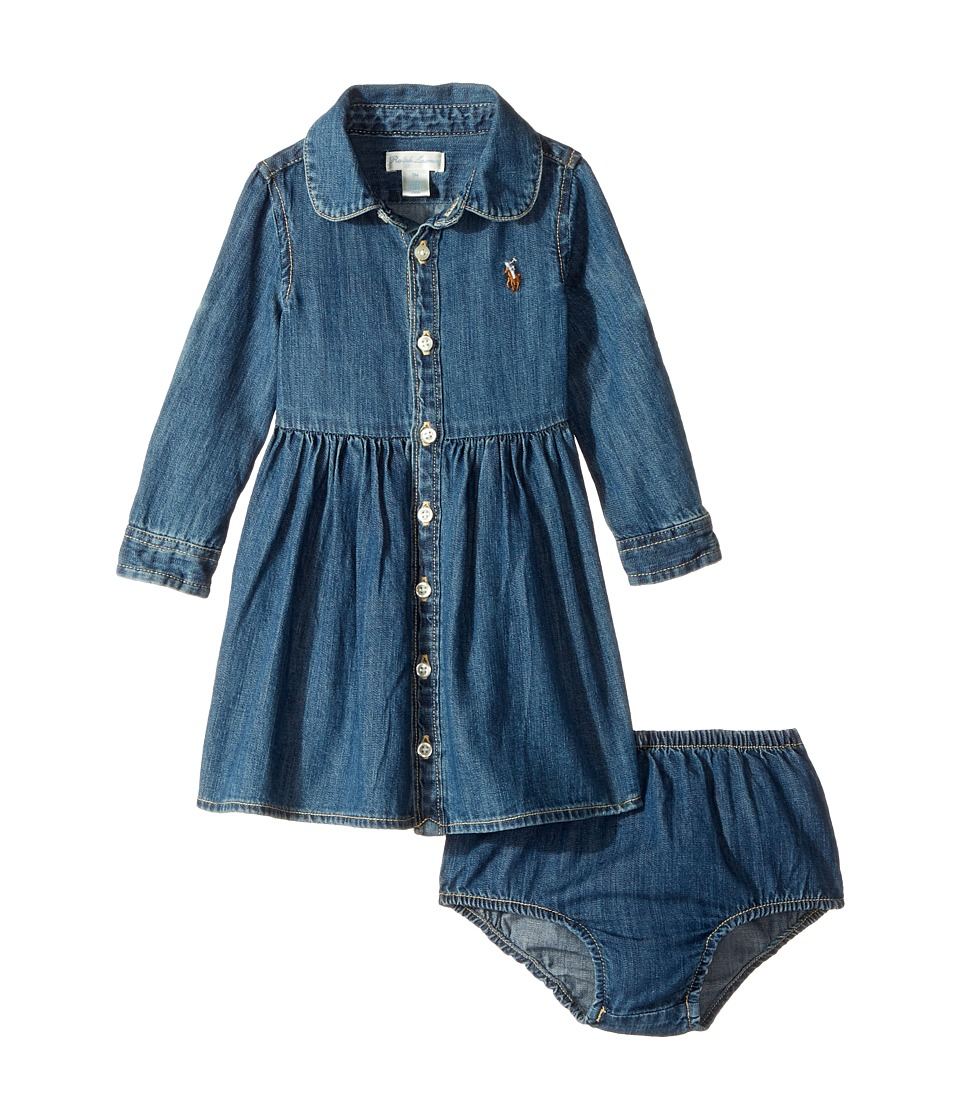 Ralph Lauren Baby - Cotton Denim Shirtdress
