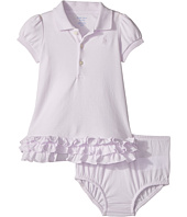 Ralph Lauren Baby - Ruffled Cotton Polo Dress (Infant)