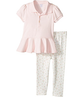 Ralph Lauren Baby - Cotton Polo & Leggings Set (Infant)