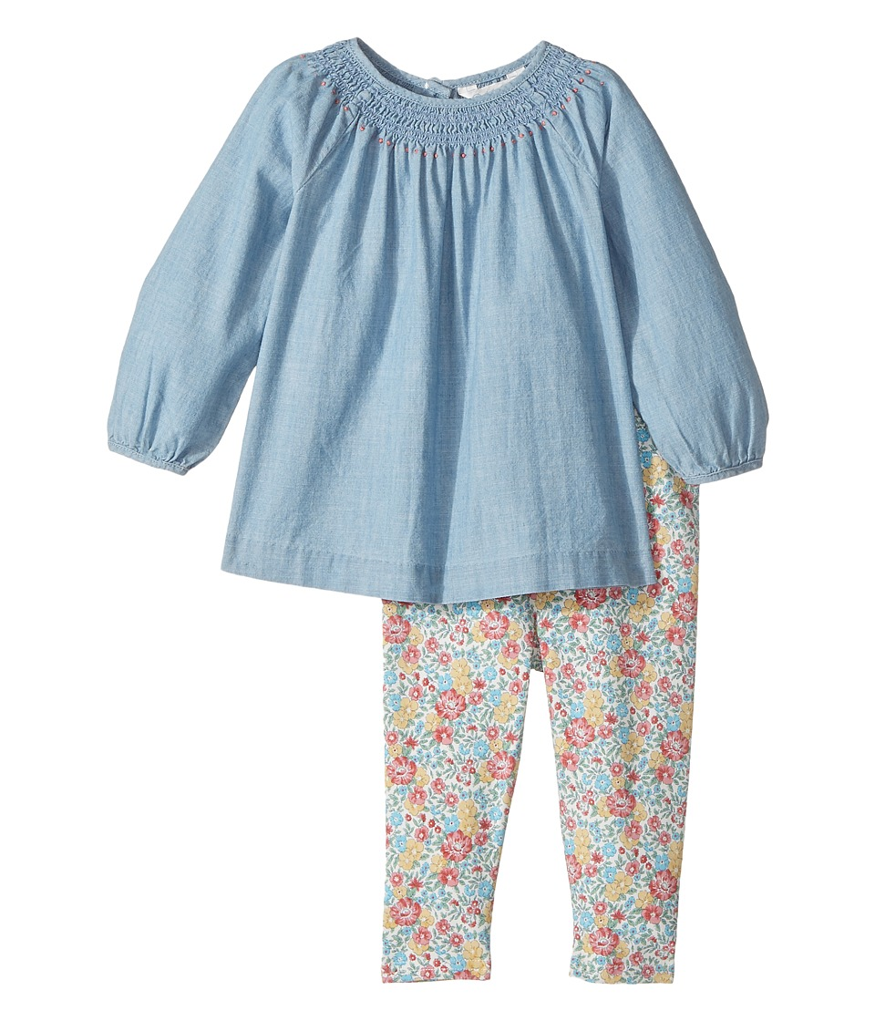 Ralph Lauren Baby - Chambray Top Floral Leggings