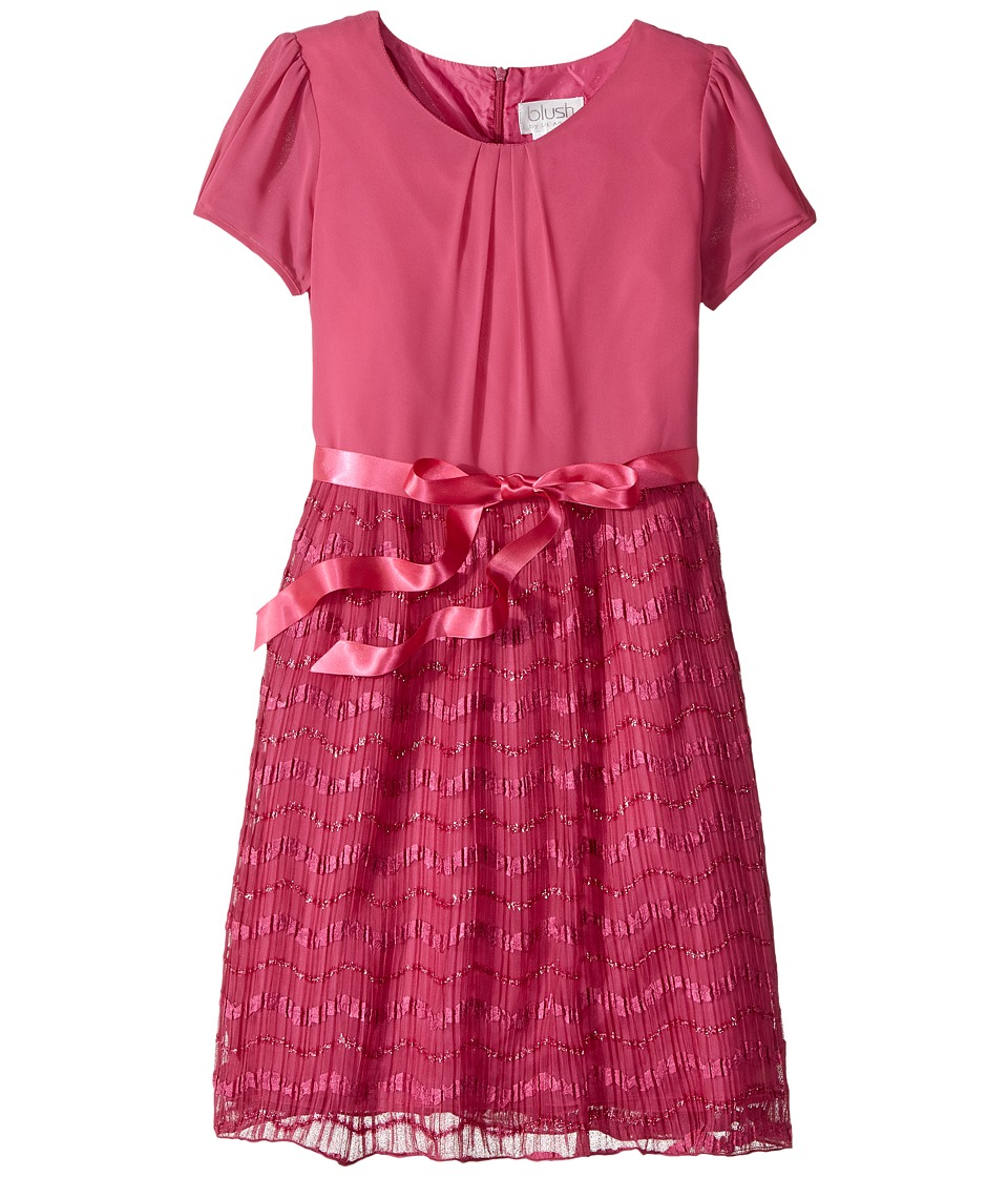 Us Angels - Cap Sleeve Dress with Sparkle Ribbon