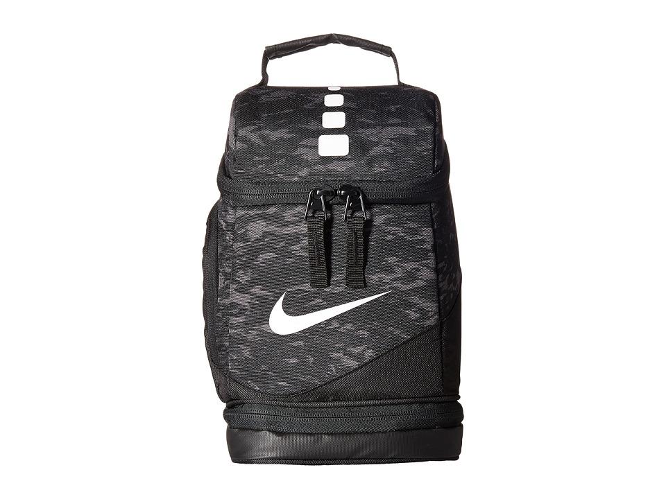 Nike Kids Elite Fuel Pack (Black/White) Tote Handbags