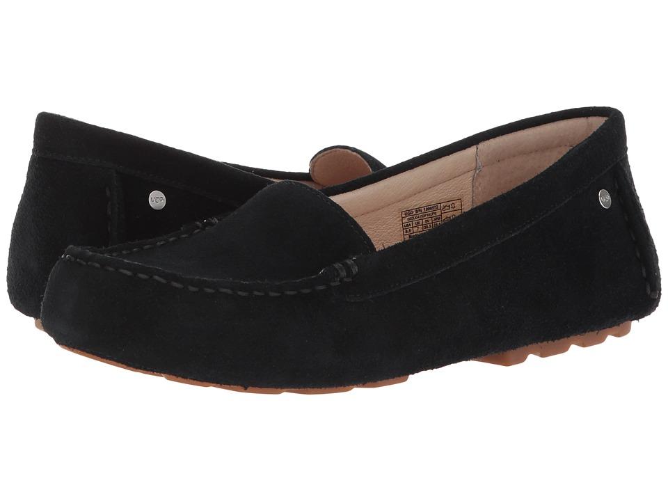 UGG - Milana (Black) Womens Dress Flat Shoes