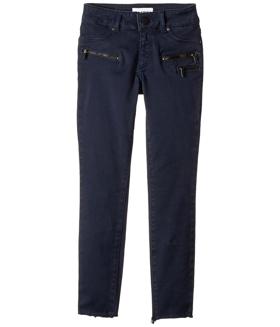 DL1961 Kids Chloe Skinny Jeans in Navy (Big Kids) (Navy) Girl