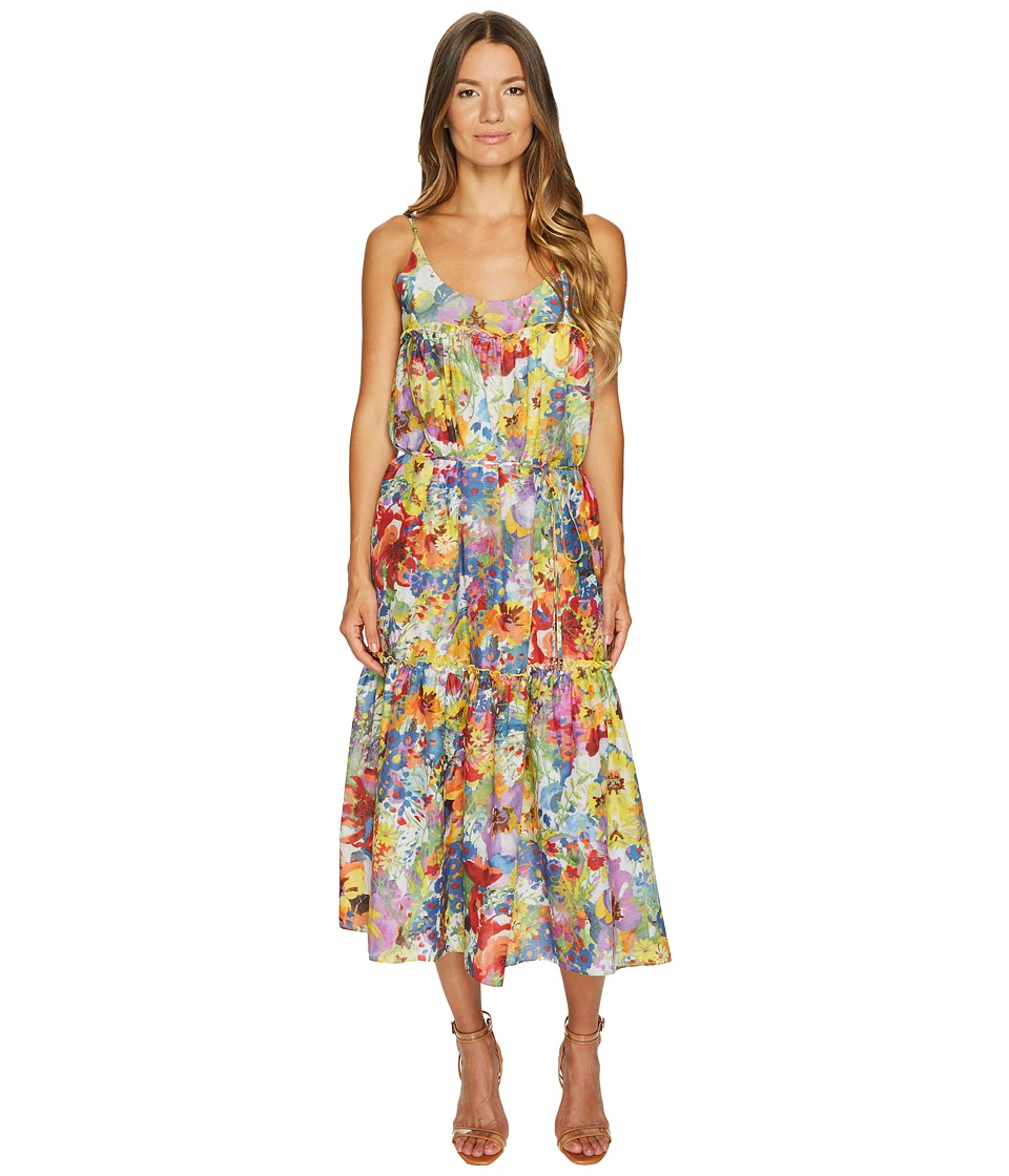 Stella McCartney Iconic Prints Maxi Dress (Floral Print) Women