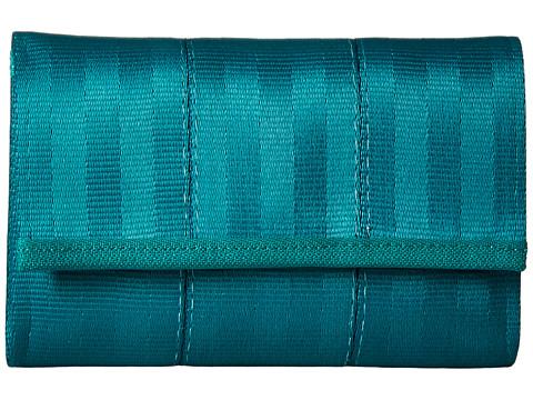 Harveys Seatbelt Bag Snap Wallet - Caribbean Green