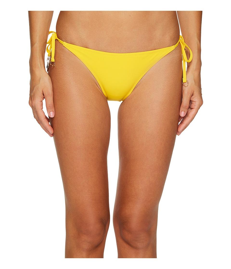 Stella McCartney Timeless Basics Tie Side Bikini Bottom (Spectra Yellow) Women