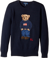Polo Ralph Lauren Kids - Polo Bear Cotton Sweater (Big Kids)