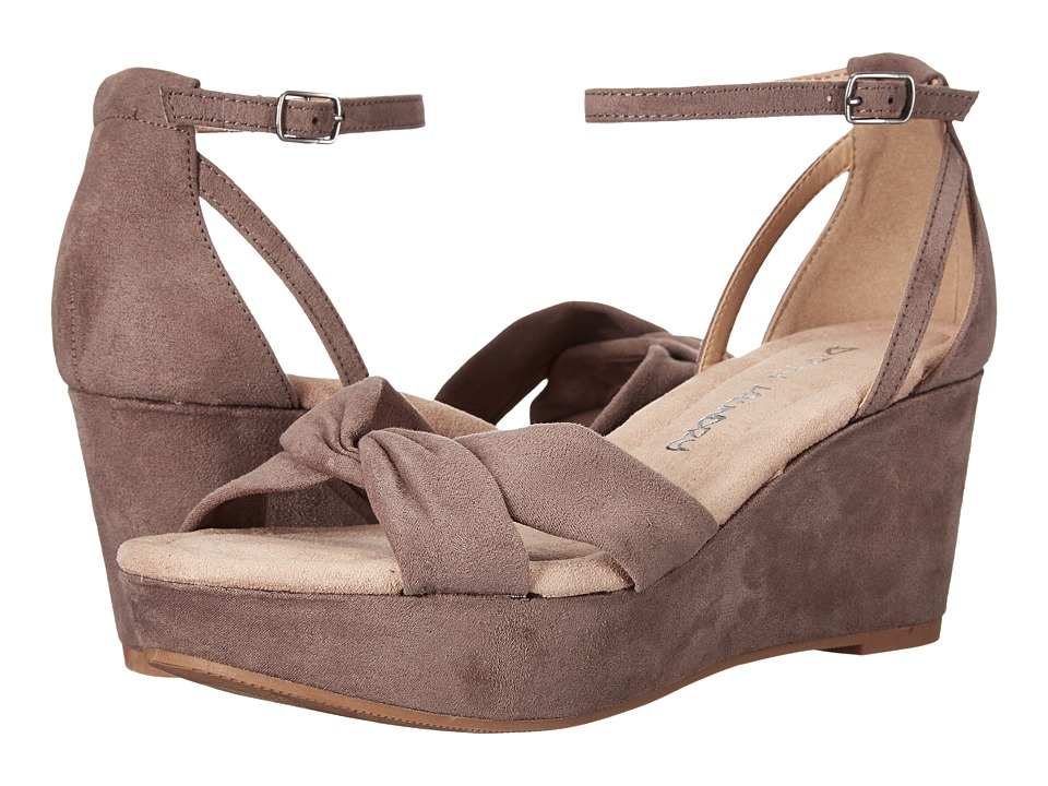 Dirty Laundry DL Dive In Wedge Sandal (Dusty Taupe) Women