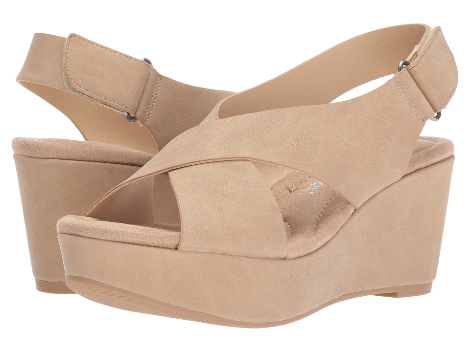 Dirty Laundry DL Daydream Wedge Sandal (Nude) Sandals
