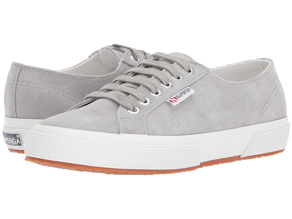 Superga - 2750 SueU Sneaker (Grey Sage) Womens Lace up casual Shoes