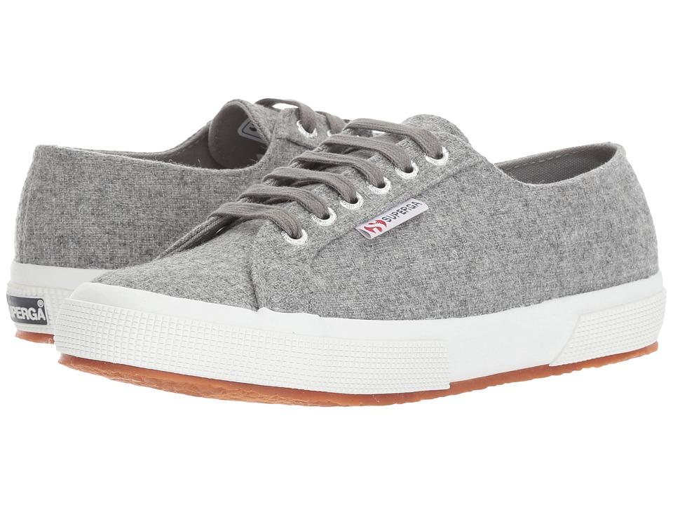 Superga 2750 Woolmelw (Light Grey) Women
