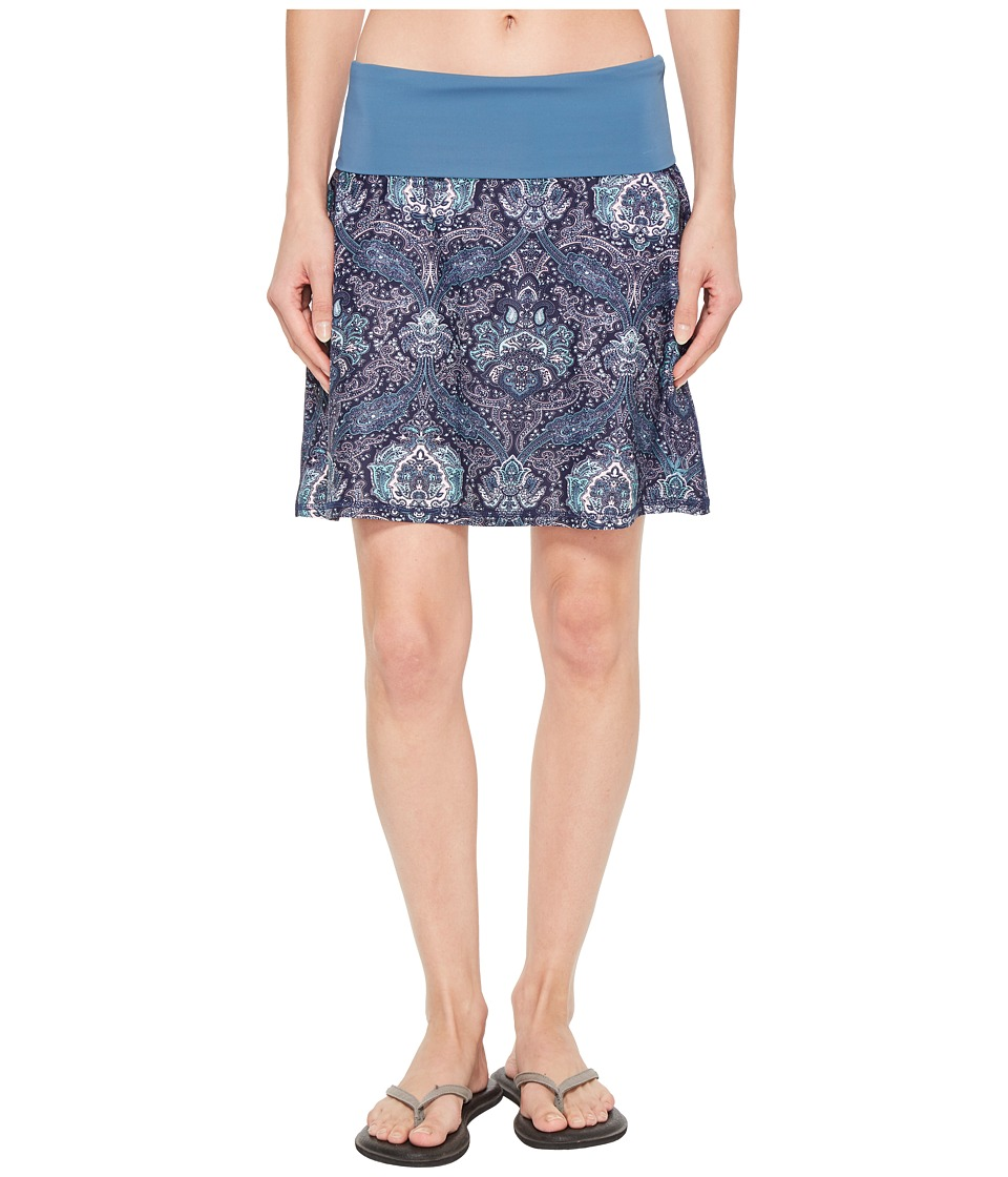 Carve Designs - Seaside Skirt (Indigo Paisley) Womens Skirt