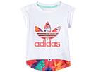 adidas Originals Kids Floral Graphic Tee (Infant/Toddler)