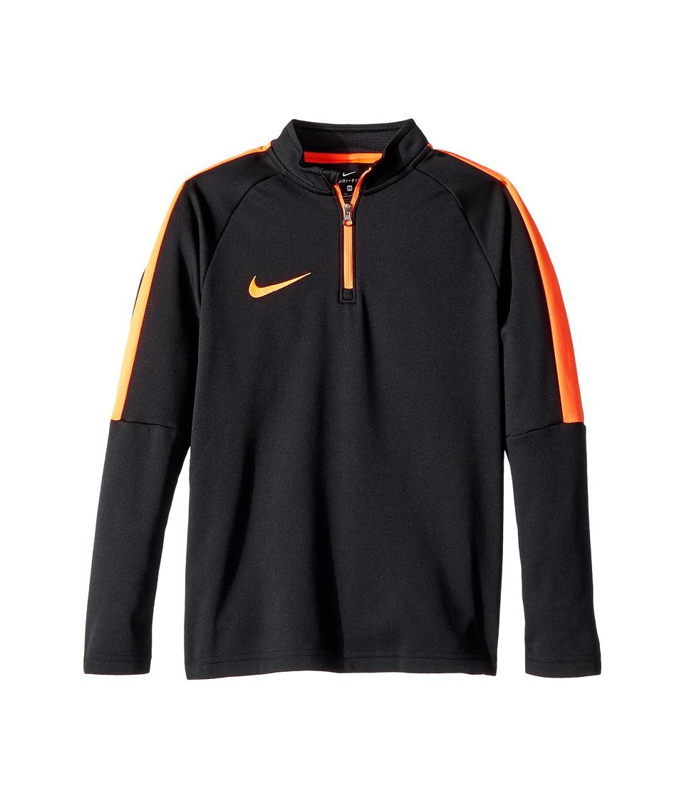 Nike Kids - Dry Soccer Drill Top (Little Kids/Big Kids) (Black/Cone/Cone) Boys Clothing