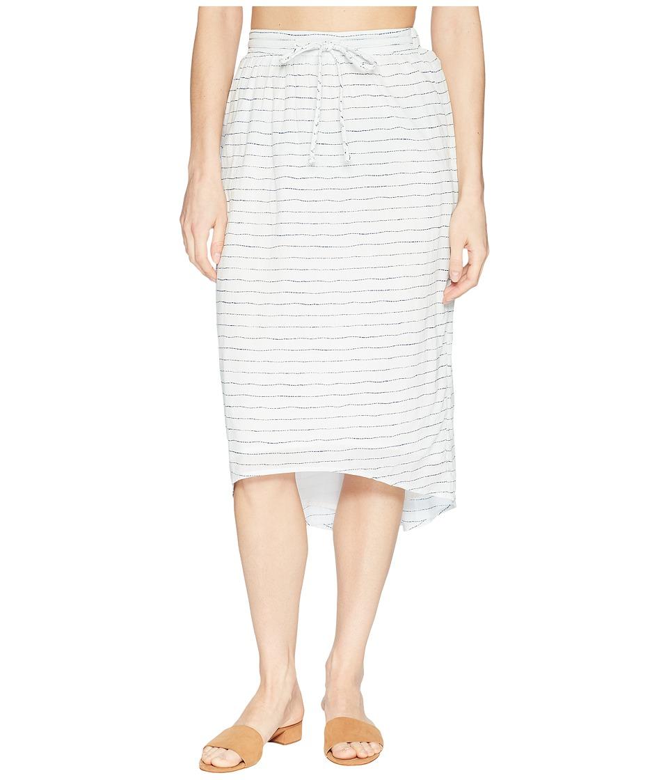 Carve Designs - Cameron Skirt (White Water Stripe) Womens Skirt