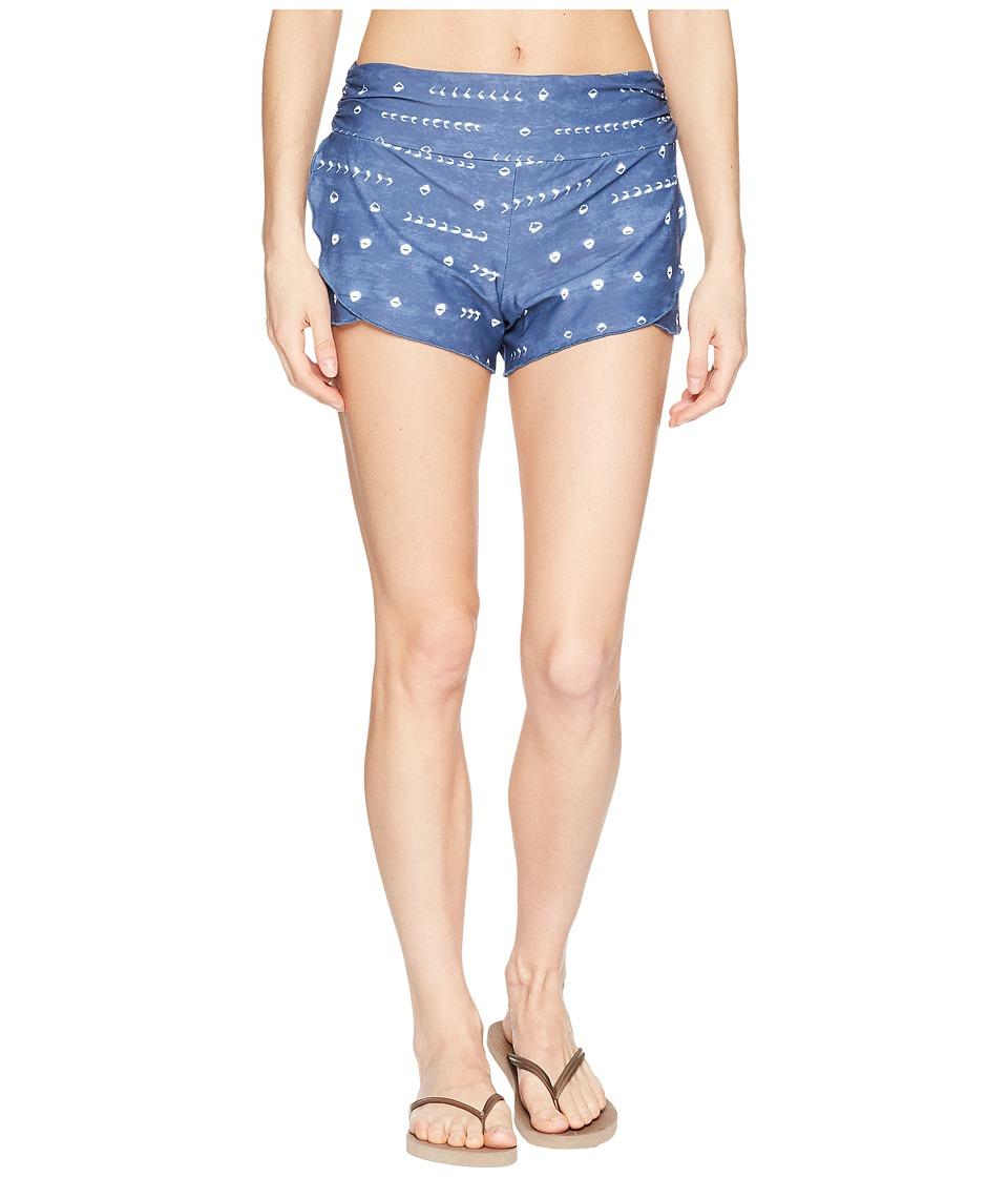 Carve Designs - Petal Shorts (Shibori) Womens Shorts