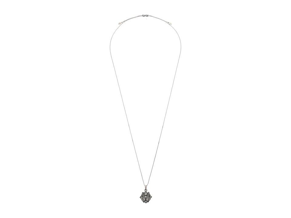 Alex and Ani - Godspeed II 32 Expandable Necklace (Rafaelian Silver) Necklace
