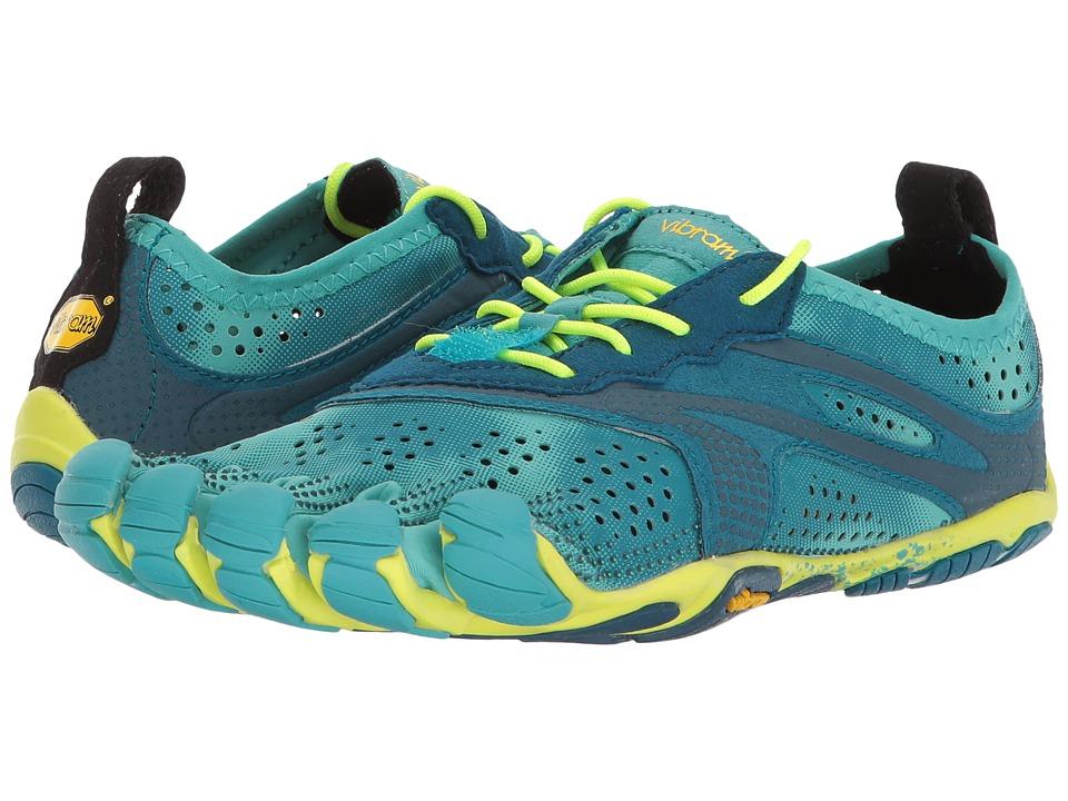 Vibram Fivefingers V-Run (Teal/Navy) Women's Shoes