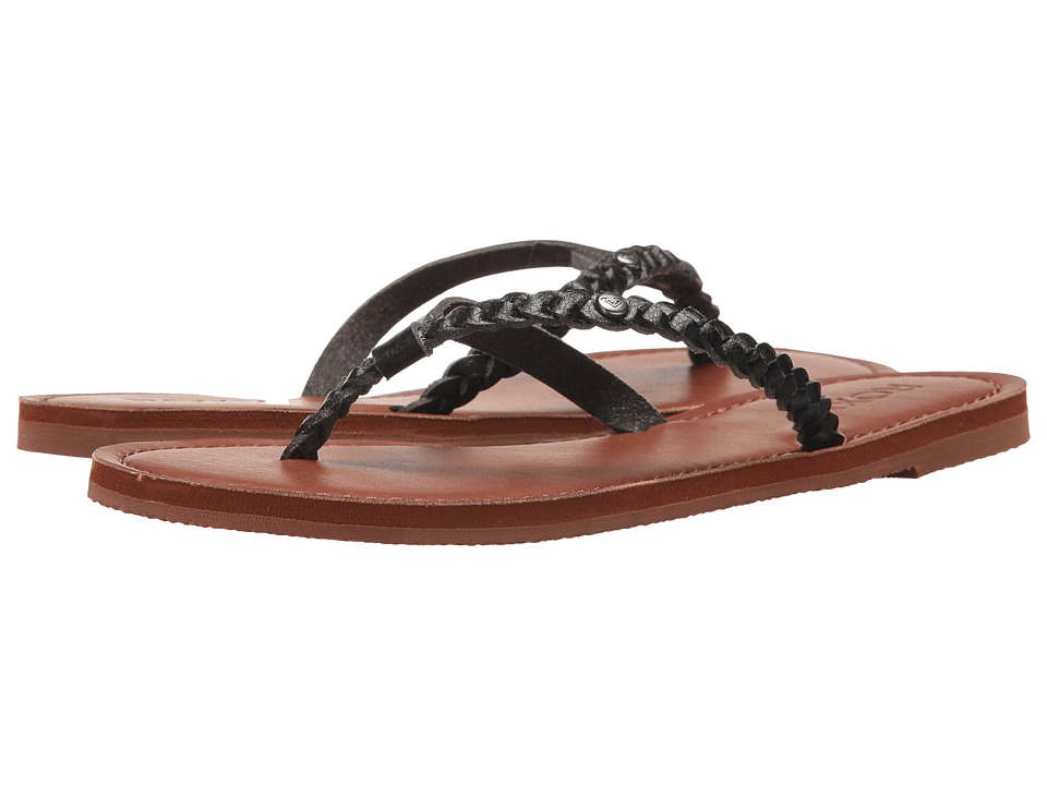 Roxy - Livia (Black) Women's Sandals