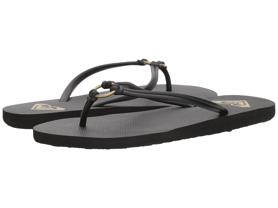 Roxy - Solis (Black) Women's Sandals