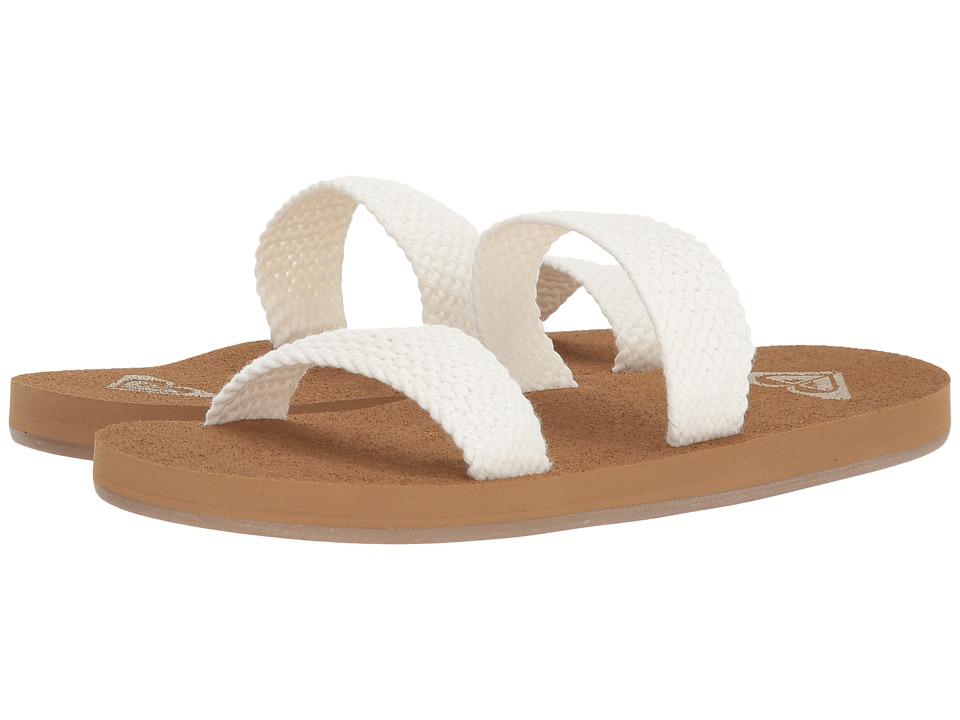 Roxy - Sanibel (Cream) Women's Sandals