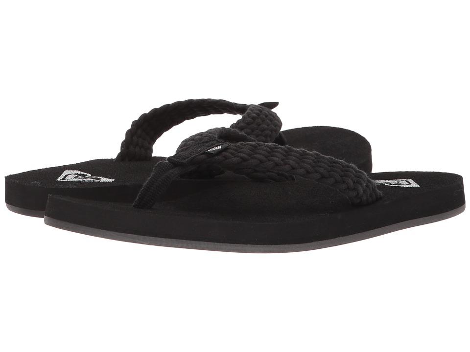 Roxy - Porto II (Black) Women's Sandals