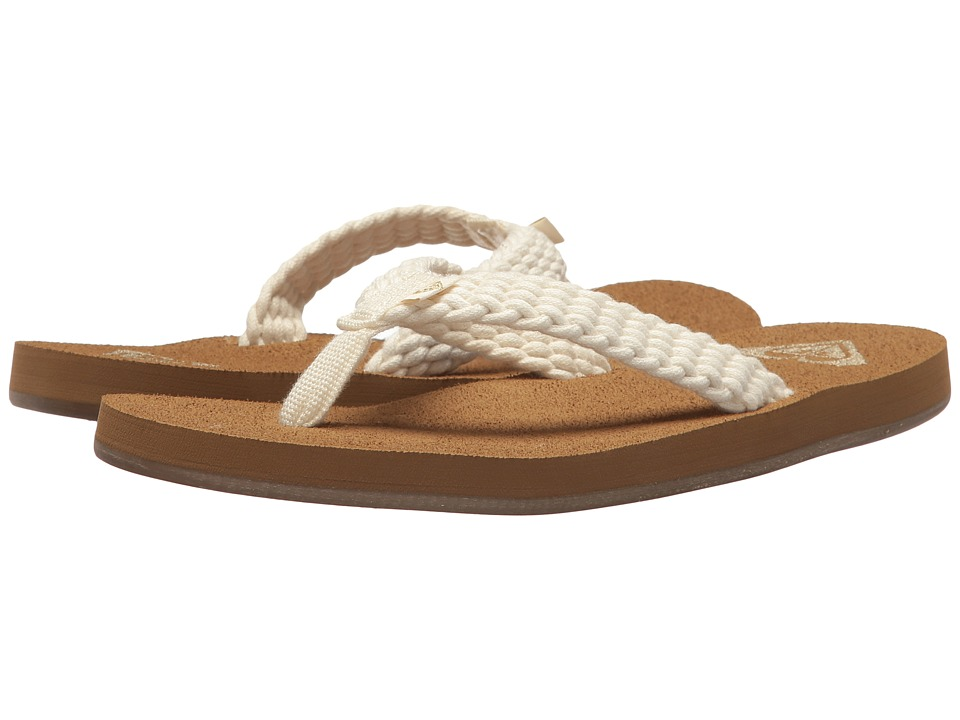 Roxy Porto II (Cream) Sandals