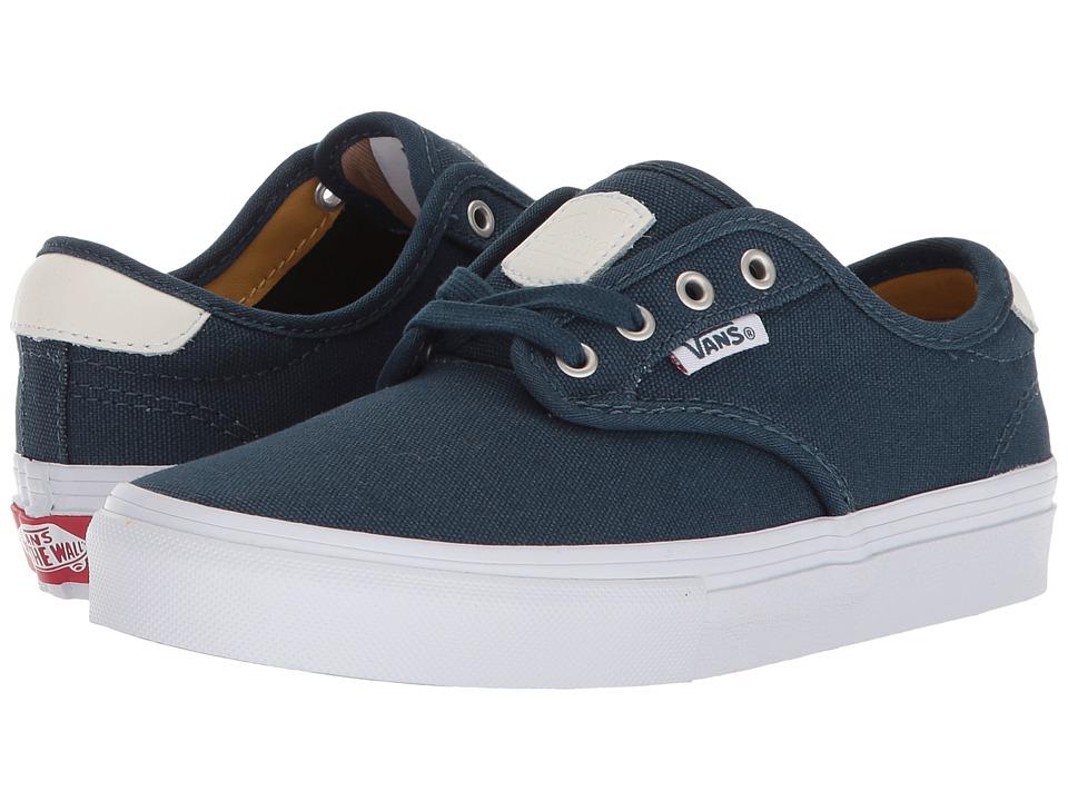 Vans Kids Chima Ferguson Pro (Little Kid/Big Kid) (Reflecting Pond/Ochre) Boys Shoes