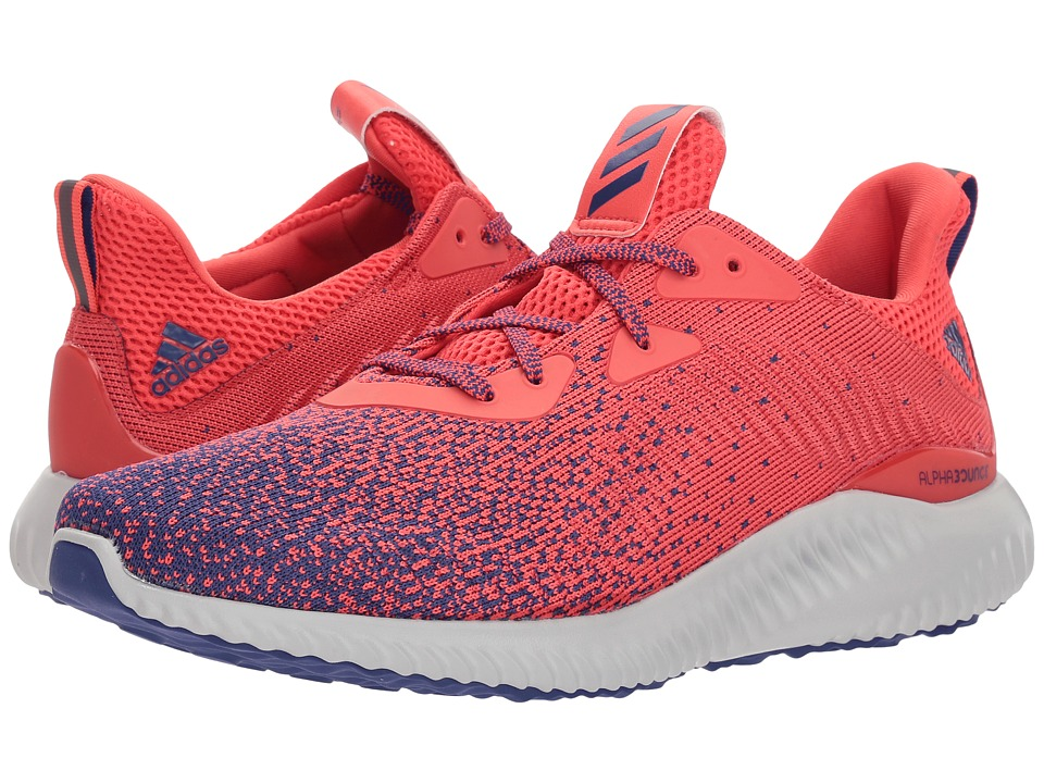 adidas Running - Alphabounce CK (Real Purple/Real Purple/Real Coral) Mens Running Shoes