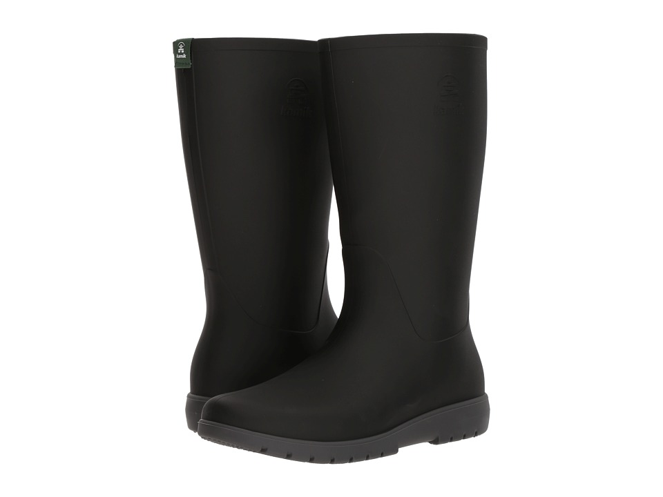 Kamik - Jessie (Black/Charcoal) Womens Rain Boots