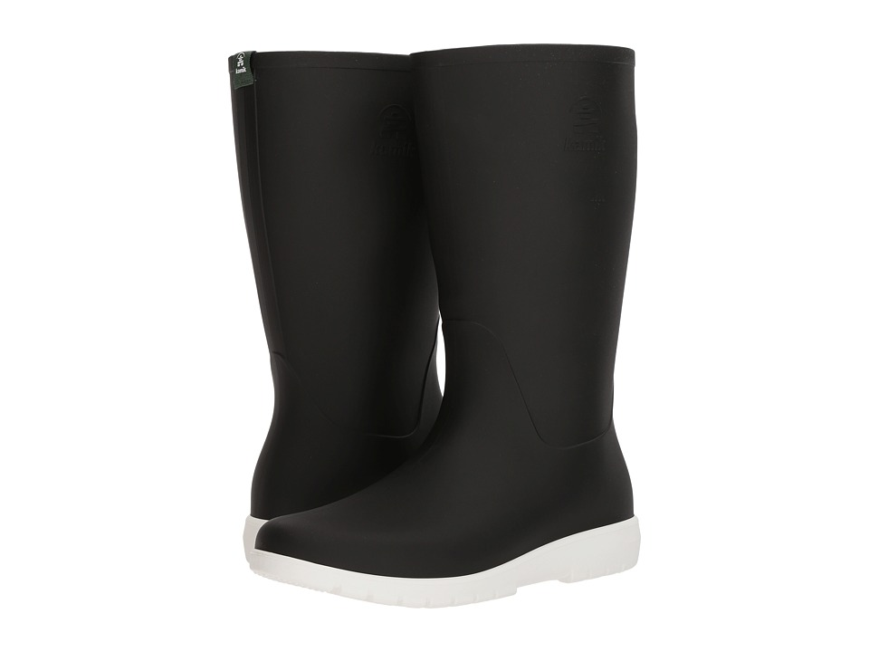 Kamik Jessie (Black/White) Women's Rain Boots