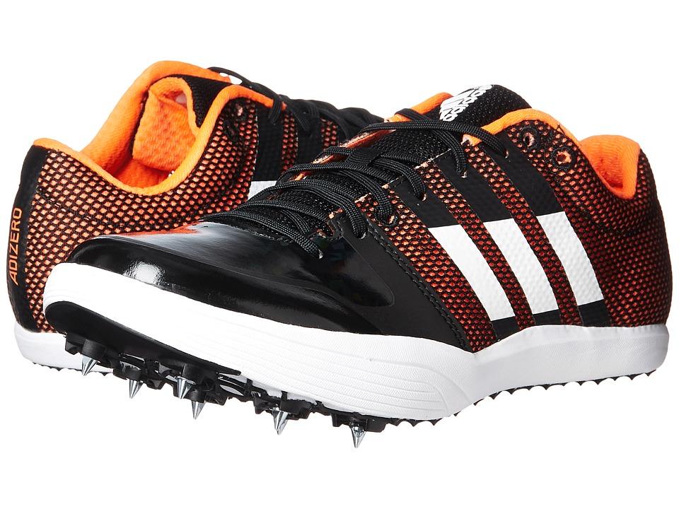 Image of adidas Running - adiZero Long Jump (Core Black/Footwear White/Orange) Running Shoes
