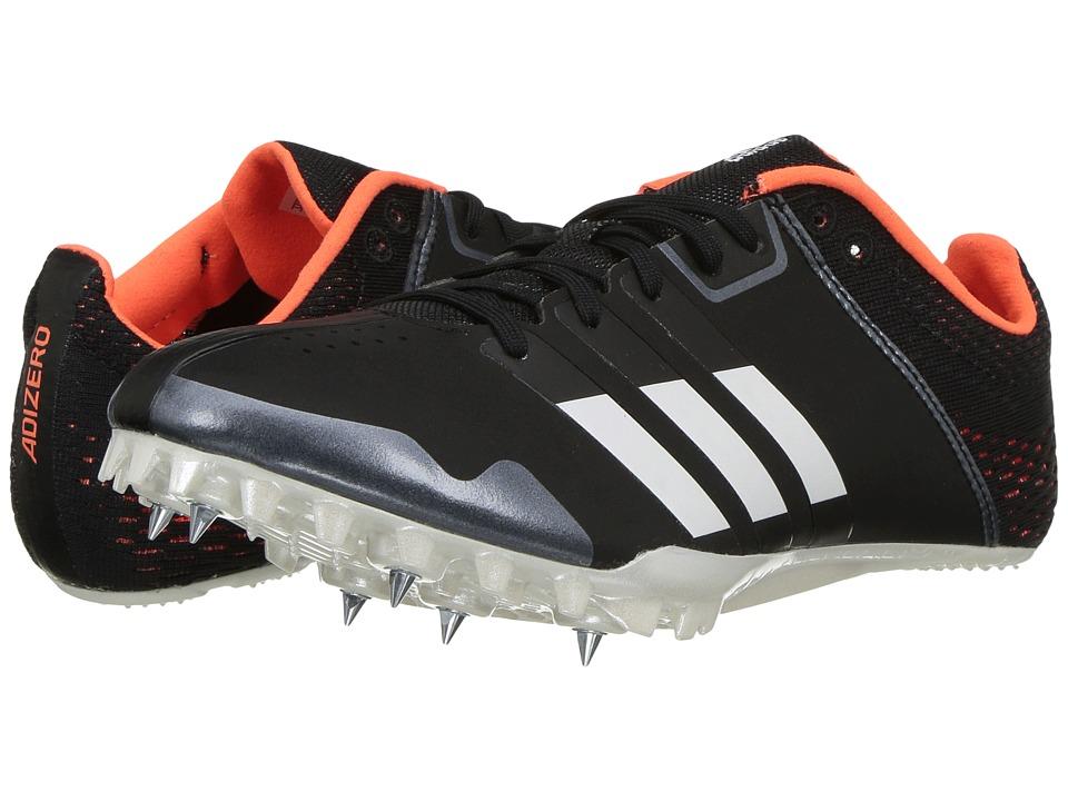 Image of adidas Running - adiZero Finesse (Core Black/Footwear White/Orange) Running Shoes