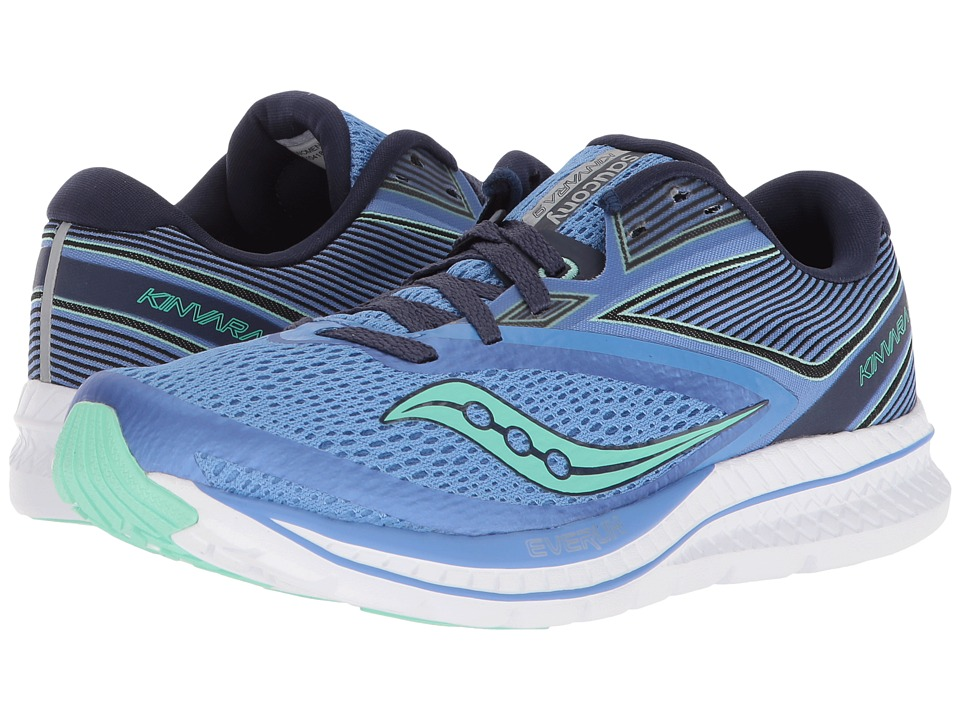 Saucony Kinvara 9 (Blue/Teal) Women's Running Shoes