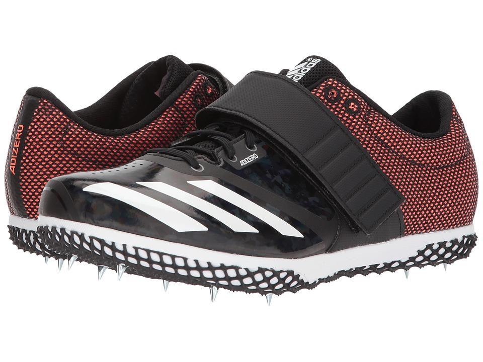 Image of adidas Running - adiZero HJ (Core Black/Solar Orange/Footwear White) Running Shoes