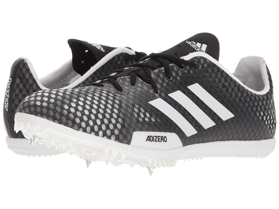 Image of adidas Running - adiZero Ambition 4 (Core Black/Footwear White/Hi-Res Orange) Men's Running Shoes