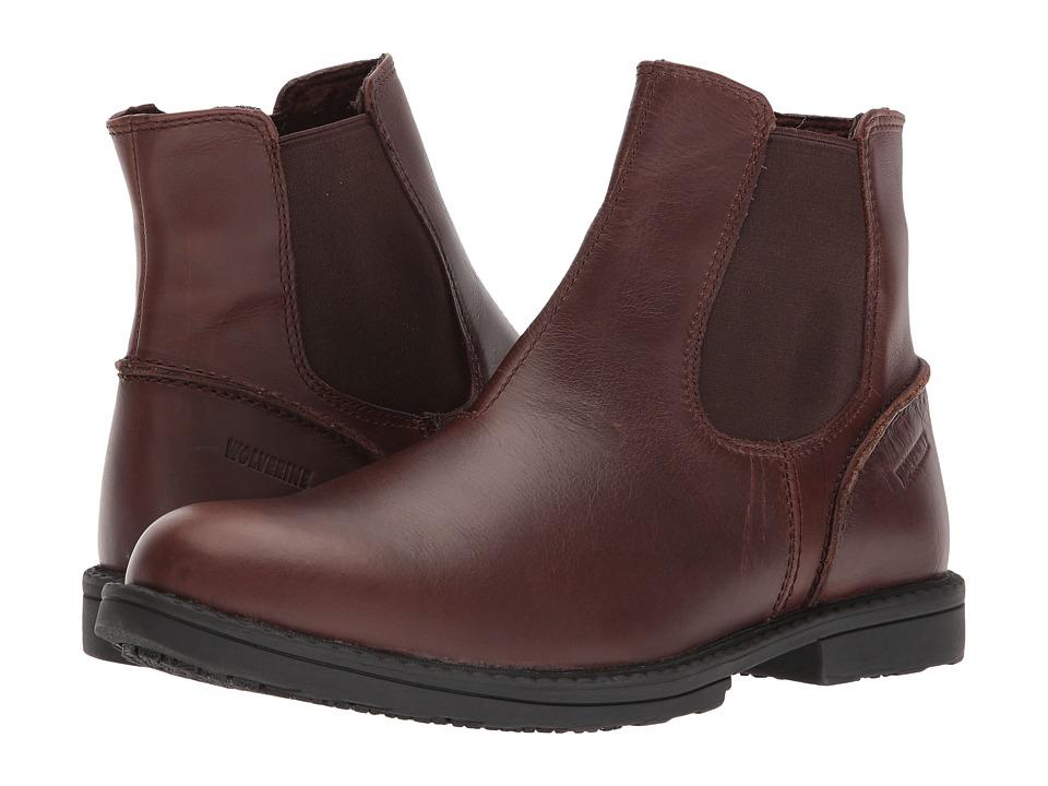 Wolverine Bedford Chelsea (Brown) Men's Work Boots